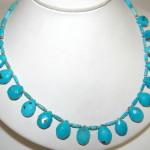 Turquoise Handmade Jewelry Precious Semi Stone