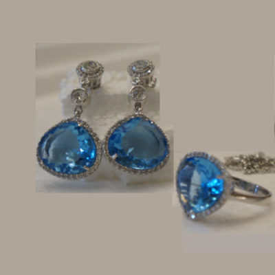Silver Crystal Jewellery