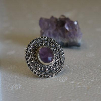 Silver Amethyst Jewellery