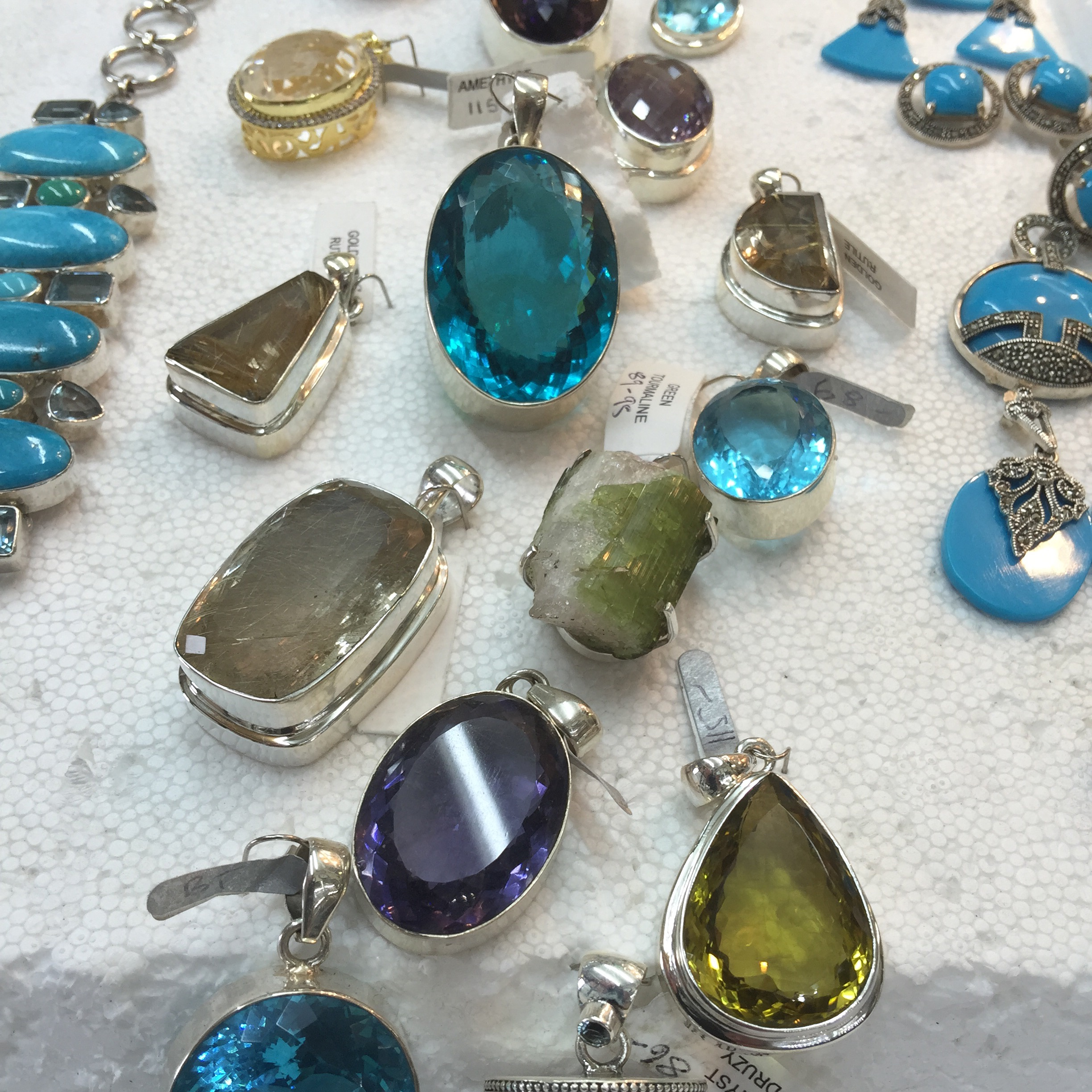 Latest Silver Crystal Jewellery Collections Silver
