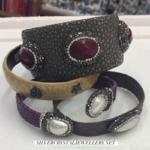 Stingray Leather Cuff Bracelets